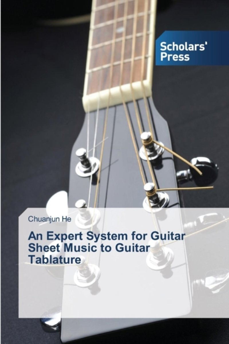 An Expert System for Guitar Sheet Music to Guitar Tablature