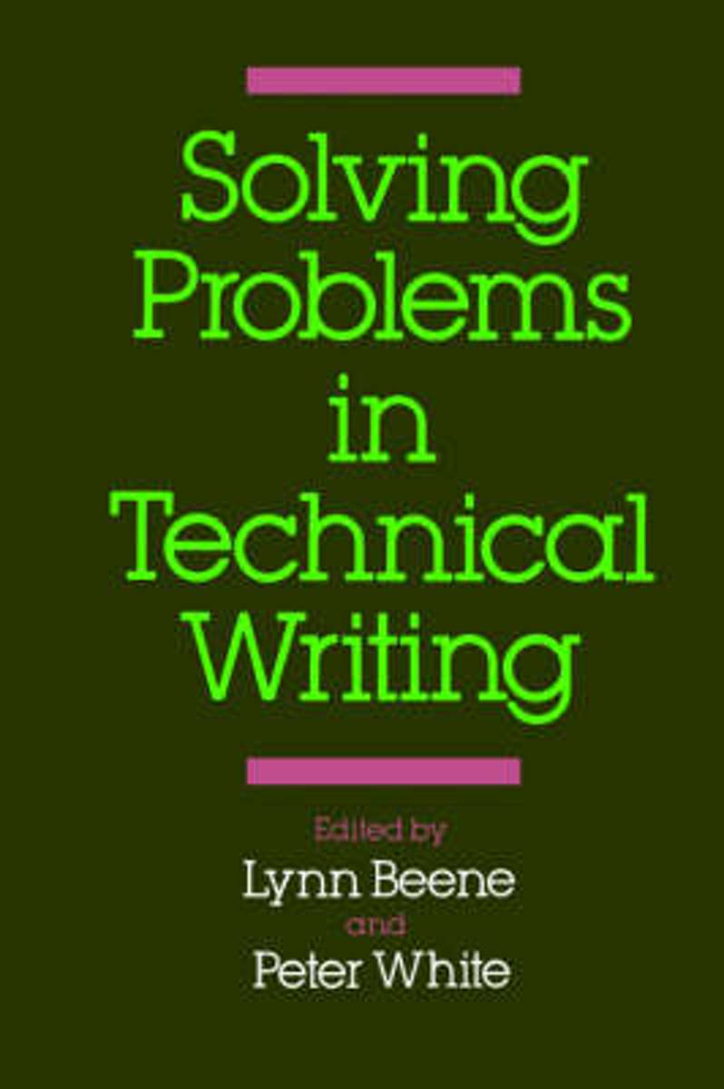 Solving Problems in Technical Writing