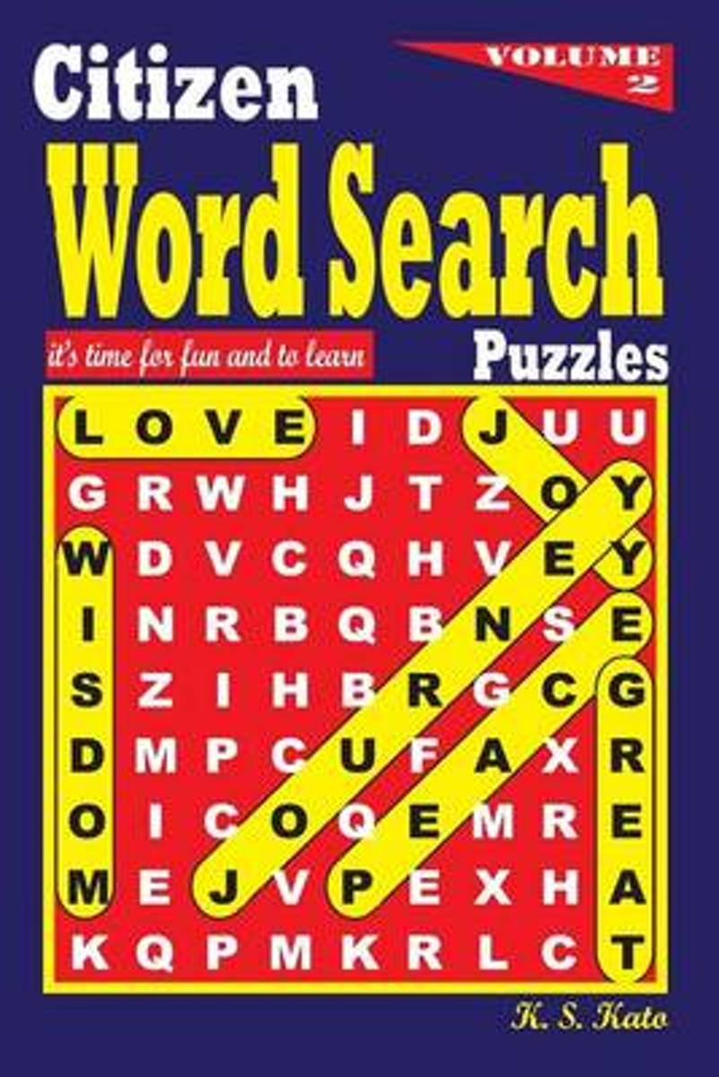 Citizen Word Search Puzzles