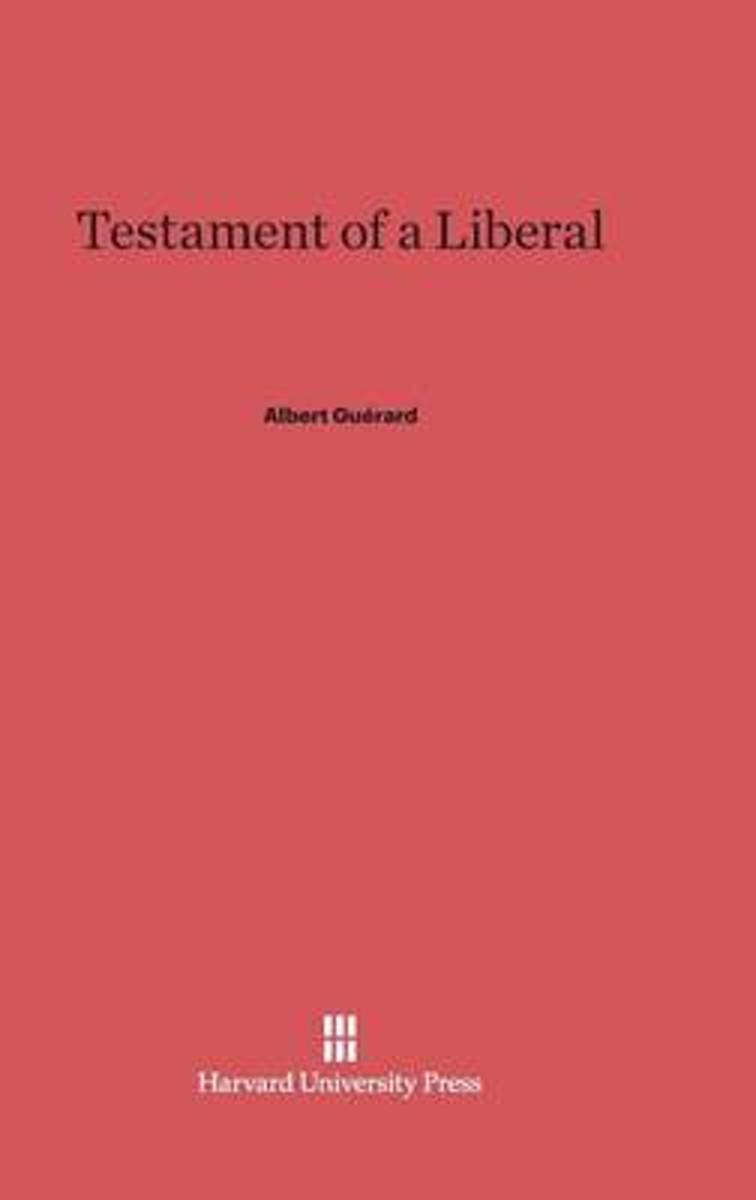 Testament of a Liberal