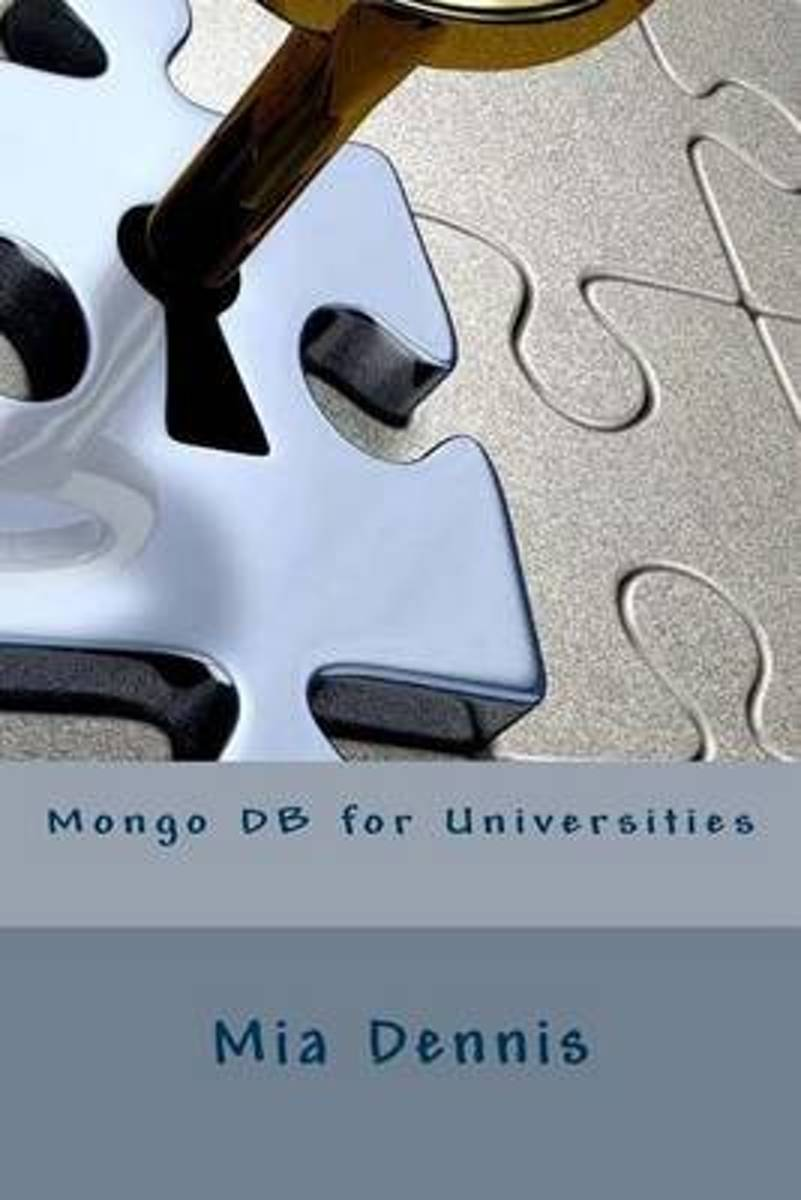 Mongo DB for Universities