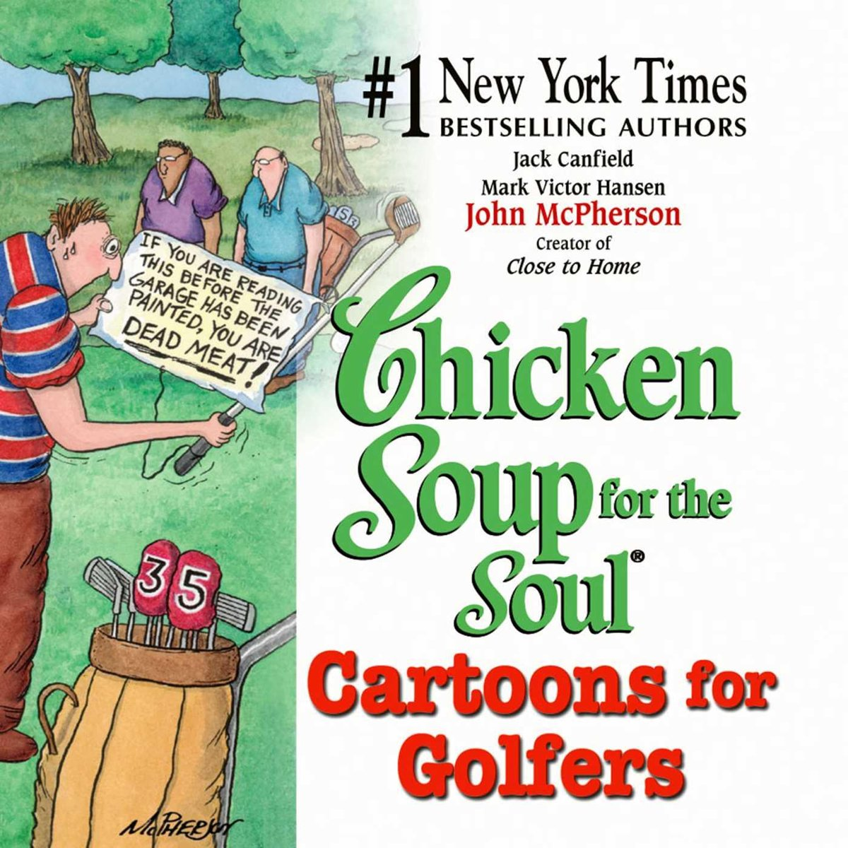Chicken Soup for the Soul Cartoons for Golfers