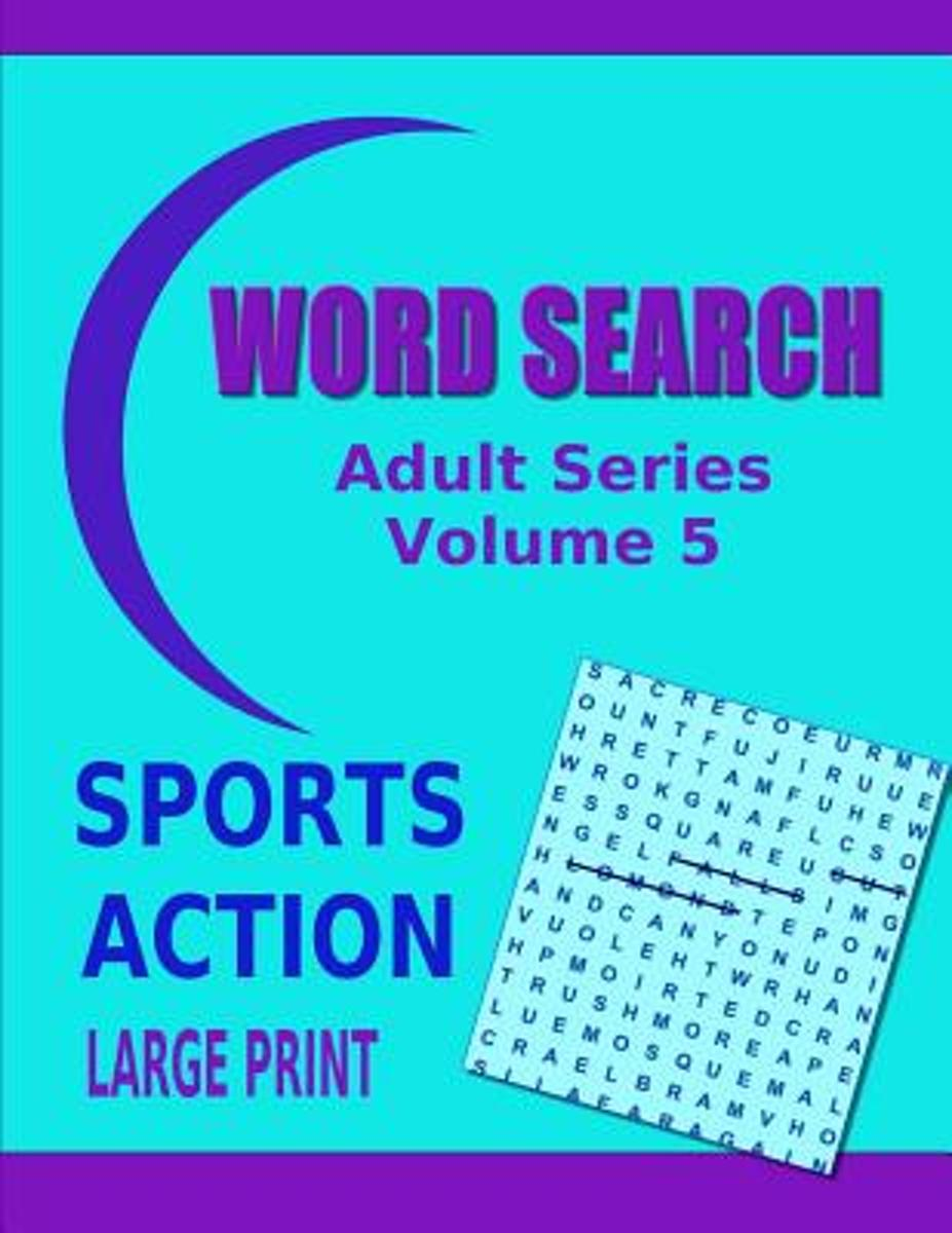 Word Search Adult Series Volume 5