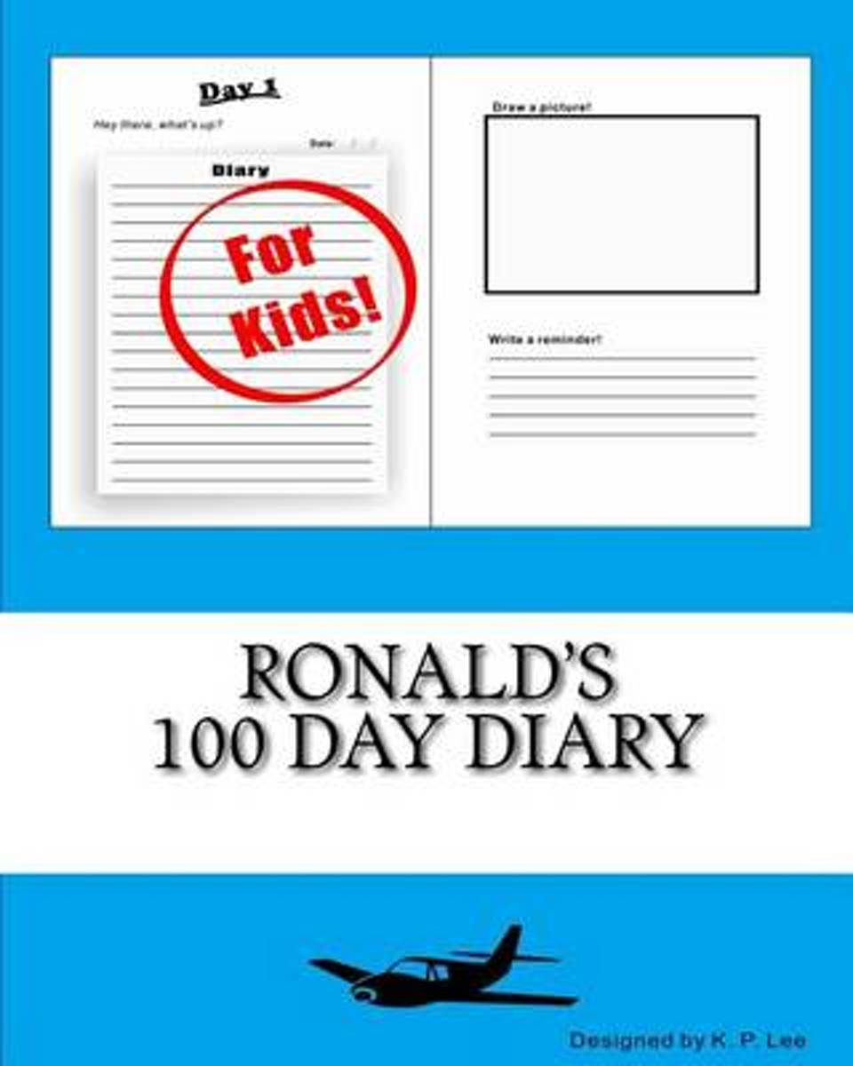 Ronald's 100 Day Diary