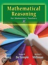 Mathematical Reasoning for Elementary School Teachers