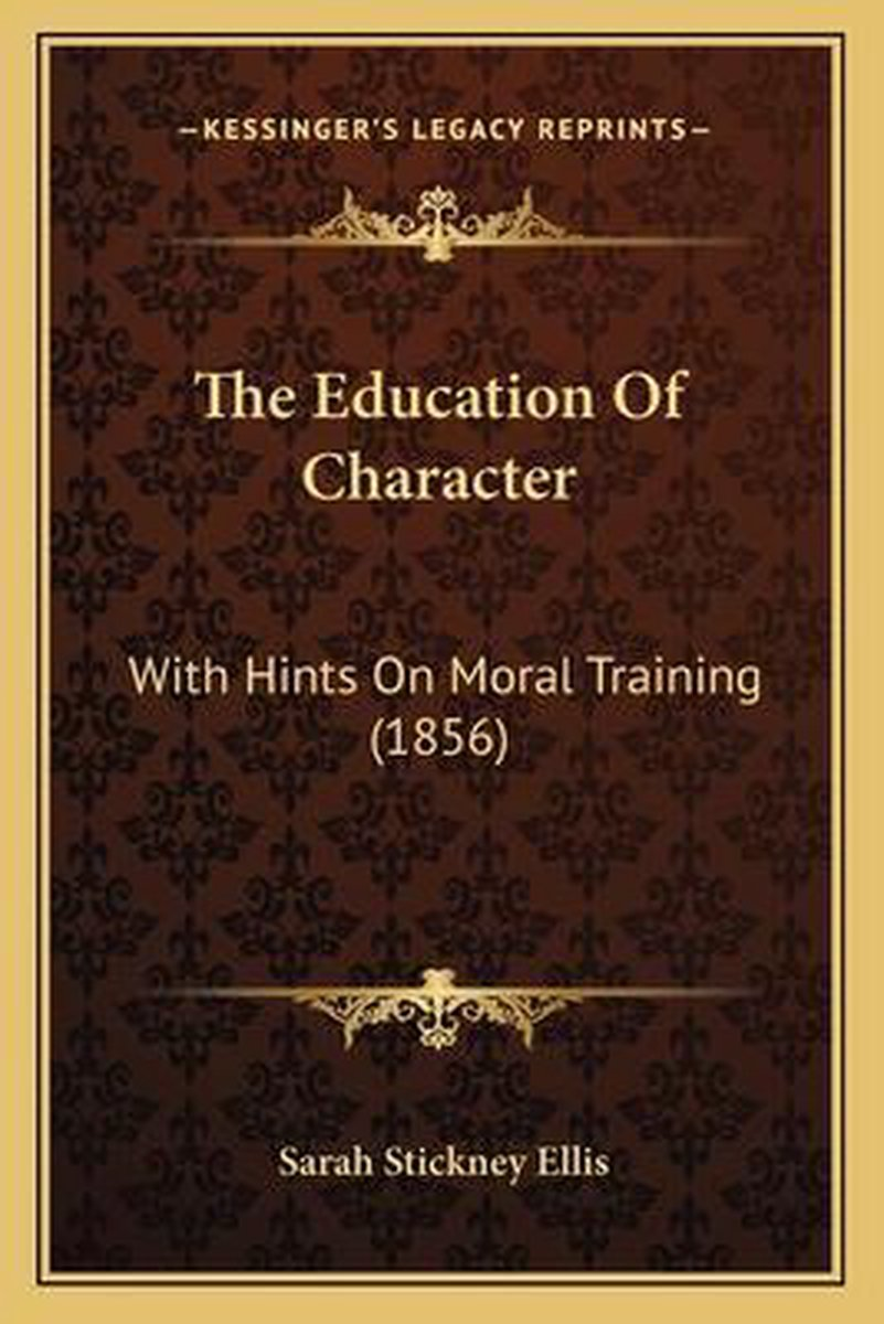 The Education of Character