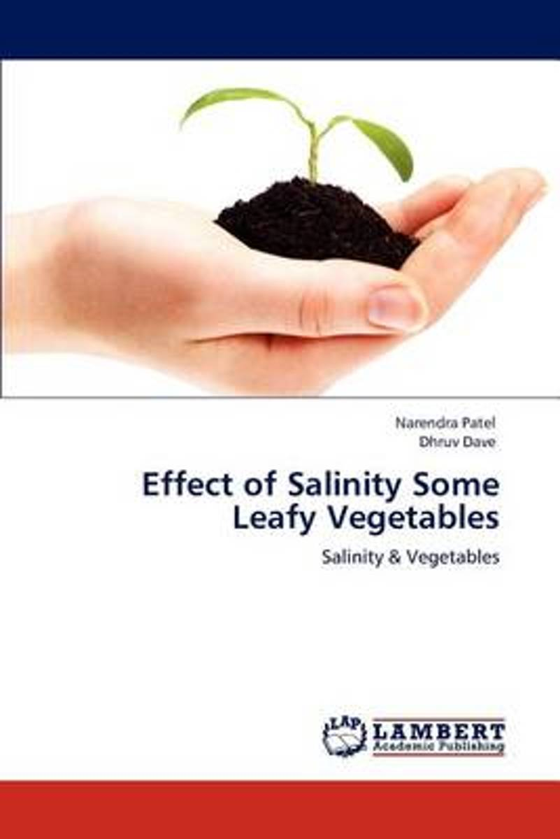 Effect of Salinity Some Leafy Vegetables