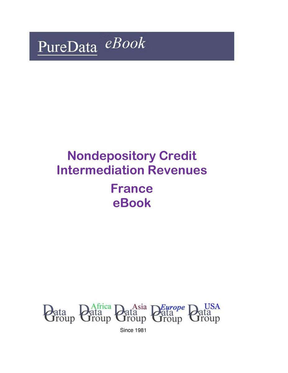 Nondepository Credit Intermediation Revenues in France