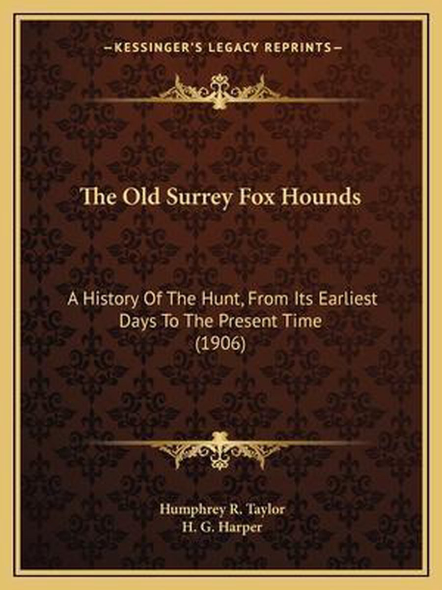 The Old Surrey Fox Hounds