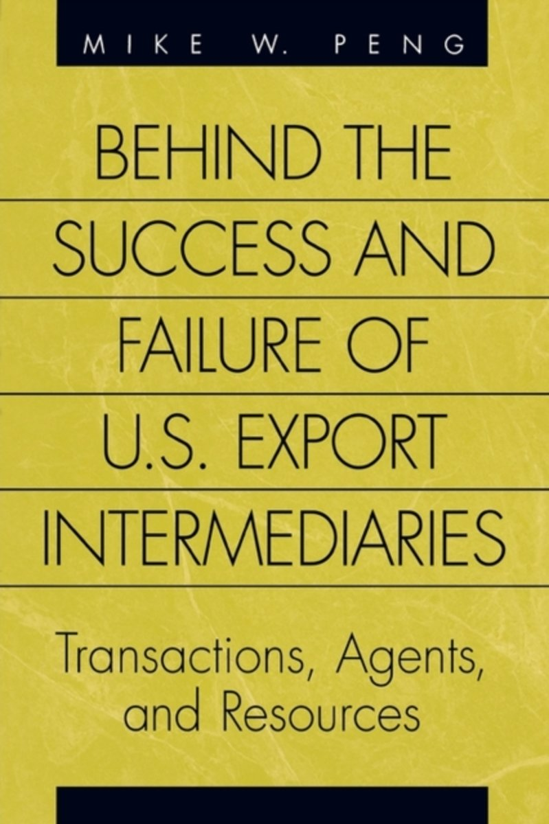 Behind the Success and Failure of U.S. Export Intermediaries