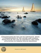 Commentaries on the Law of Contracts
