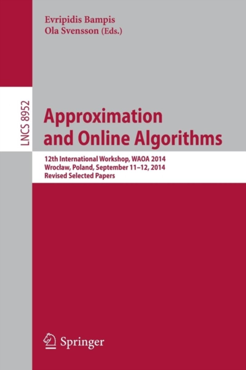 Approximation and Online Algorithms
