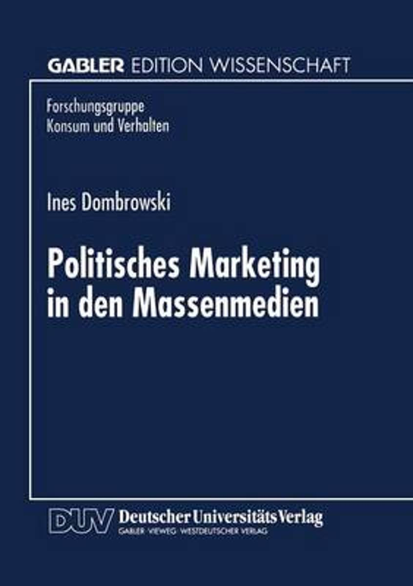 Politisches Marketing in Den Massenmedien