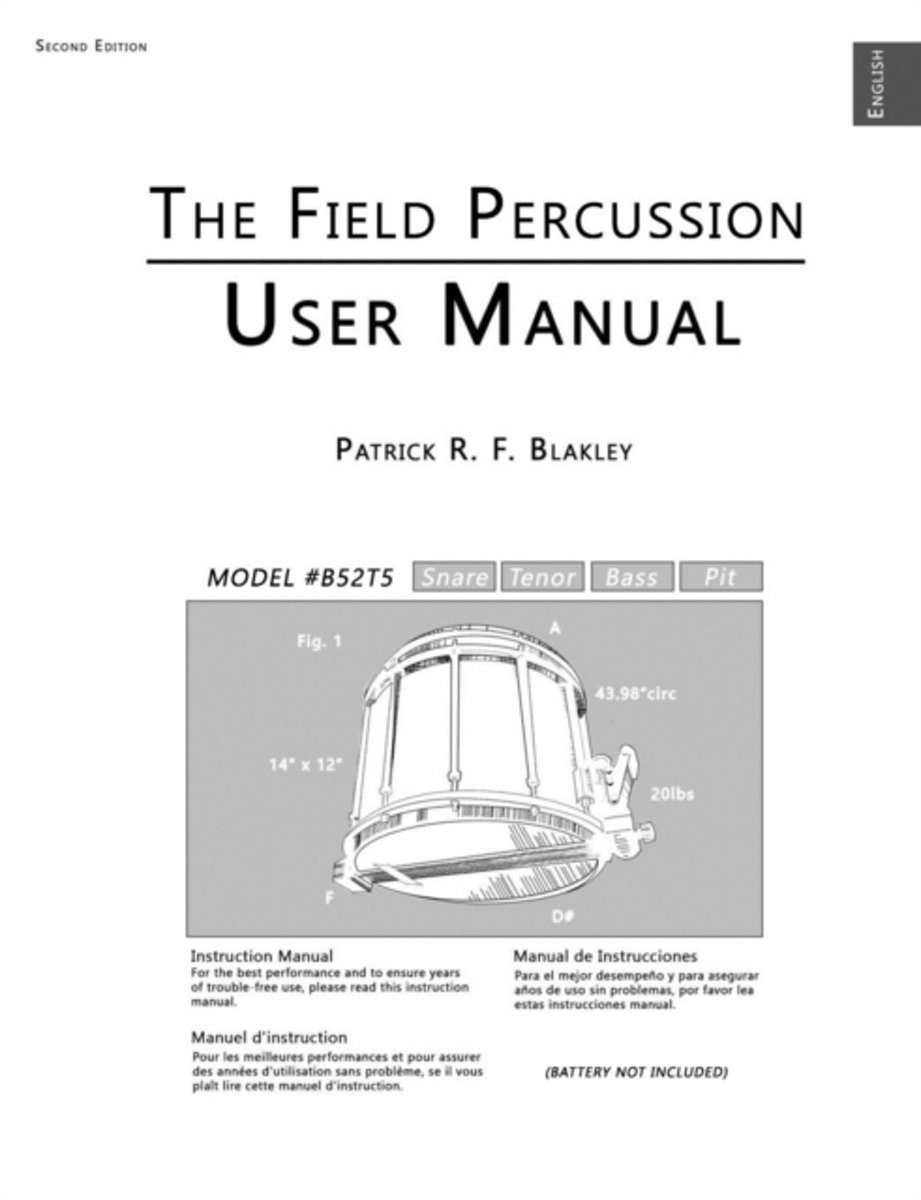 The Field Percussion User Manual