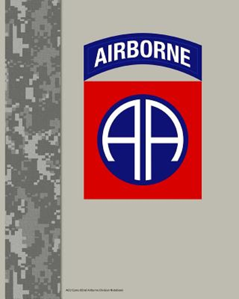 Acu Camo 82nd Airborne Division Notebook