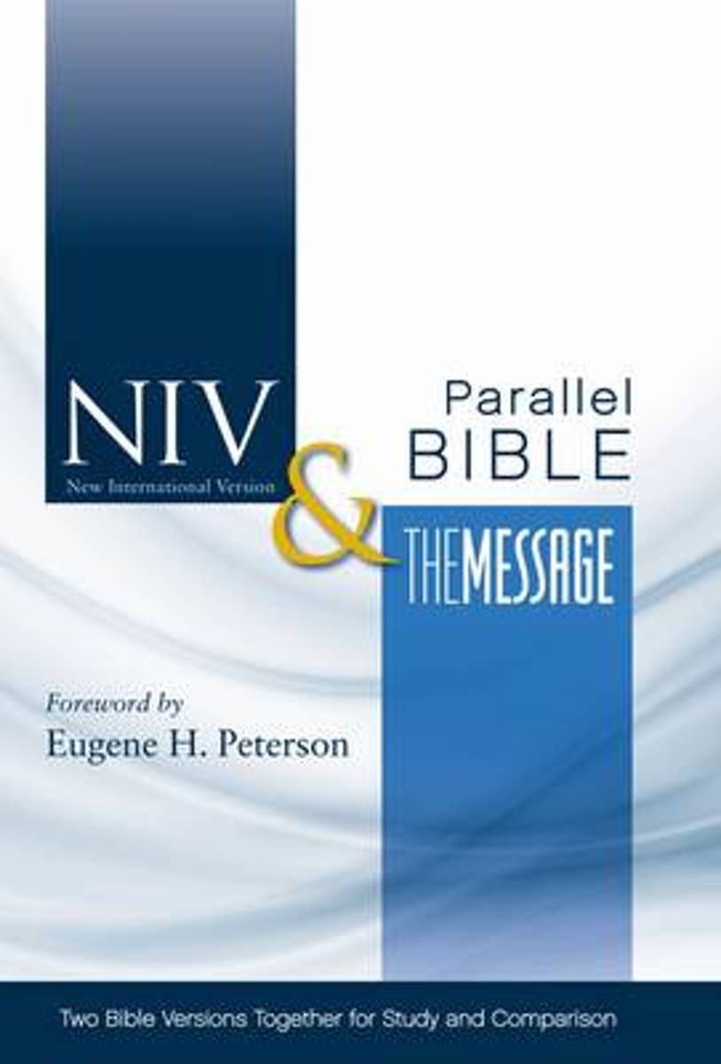 NIV, The Message Side-by-Side Bible, Hardcover