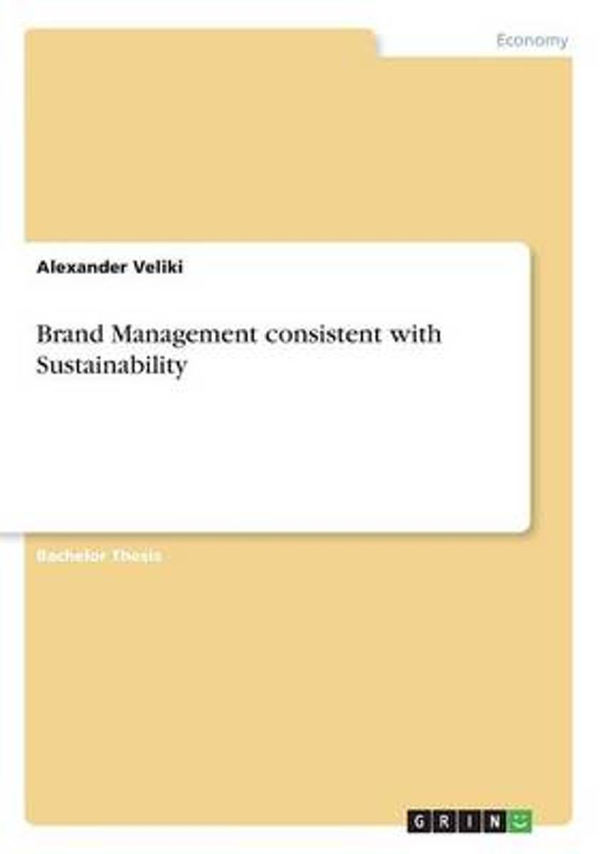 Brand Management Consistent with Sustainability