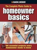 Black & Decker the Complete Photo Guide Homeowner Basics