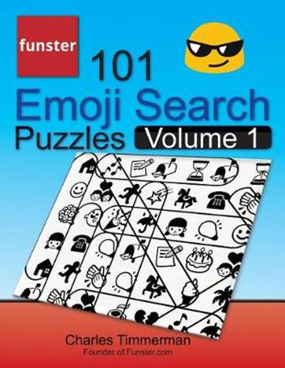 Funster 101 Emoji Search Puzzles, Volume 1