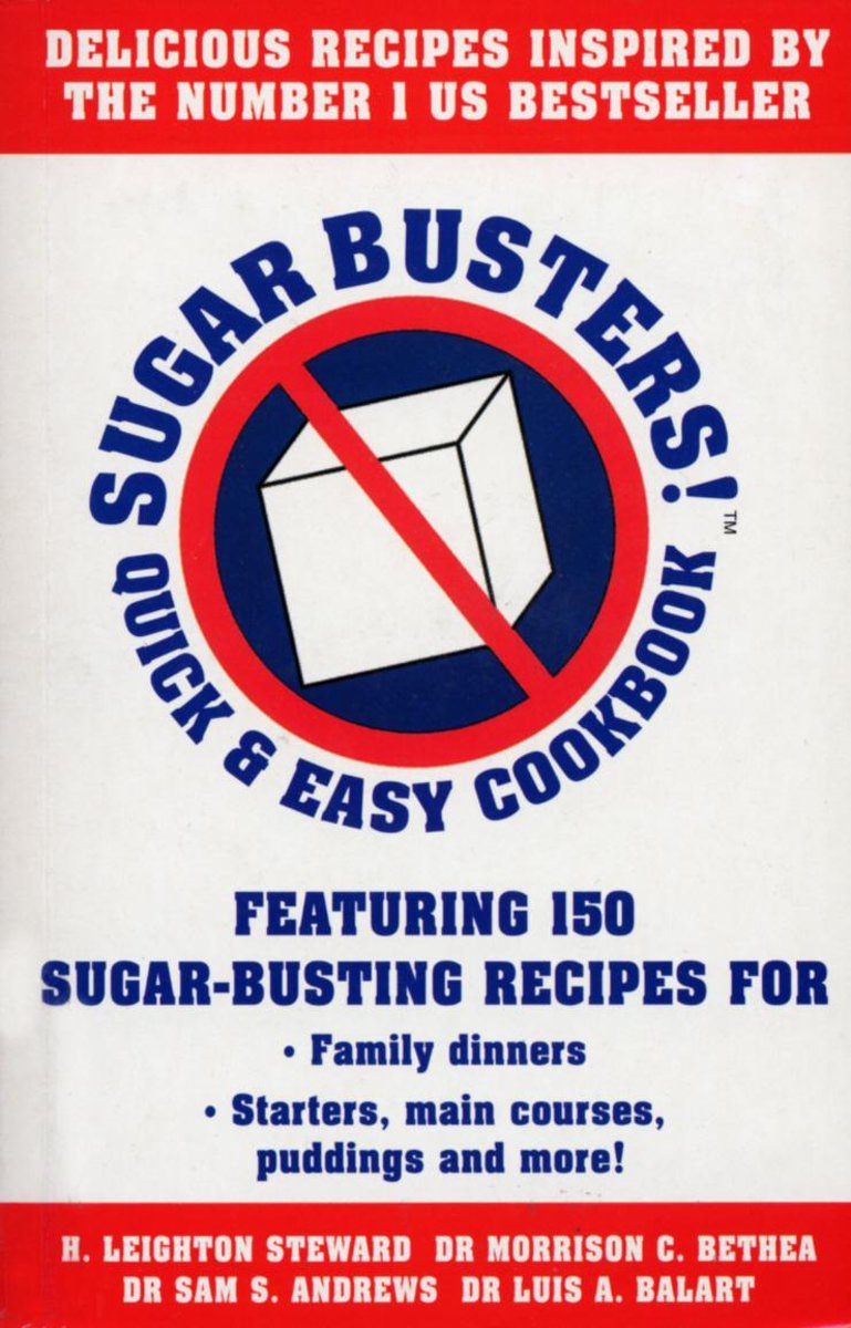 Sugar Busters! Quick & Easy Cookbook