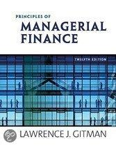 Principles Of Managerial Finance & Myfinance Student Access Code Card