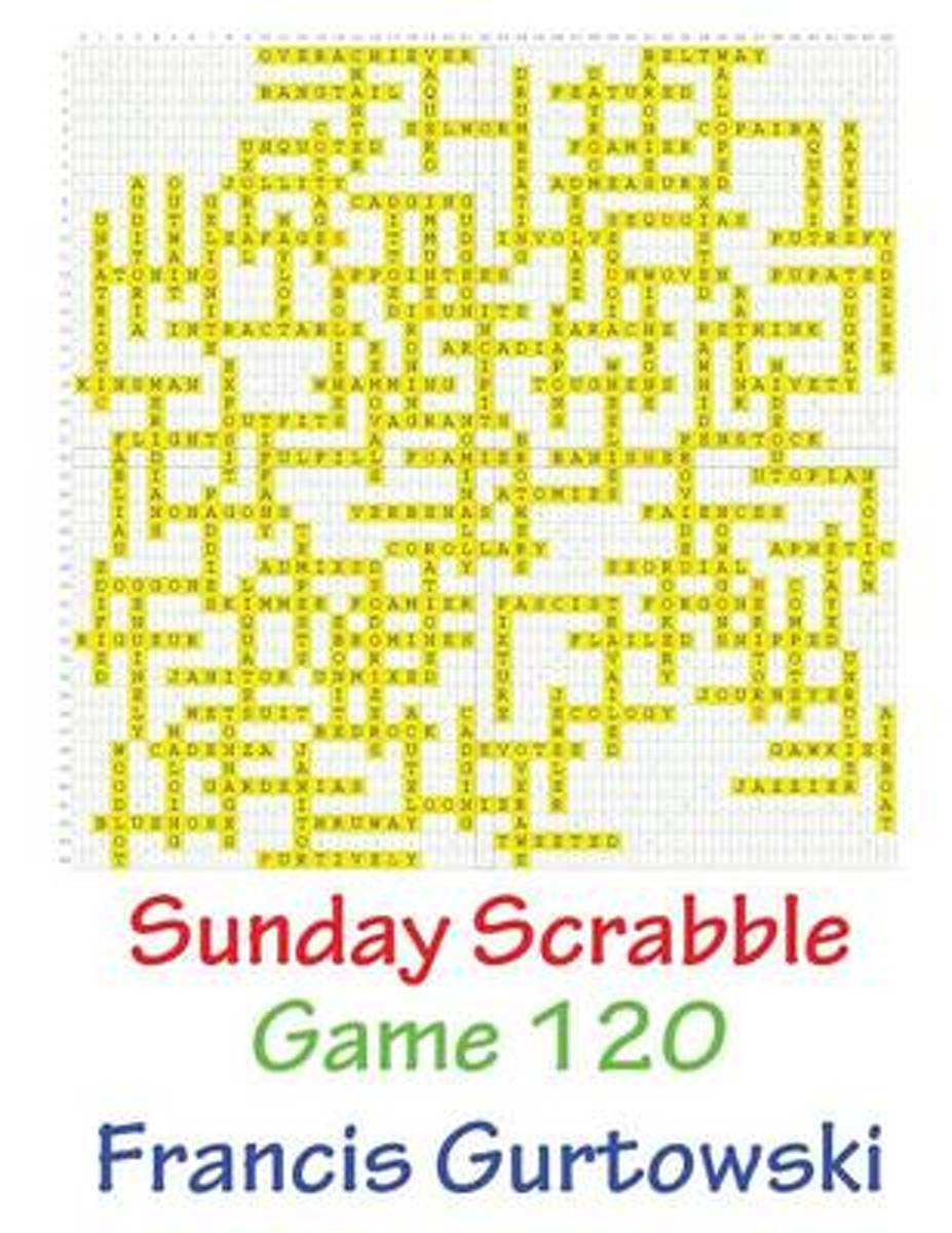 Sunday Scrabble Game 120