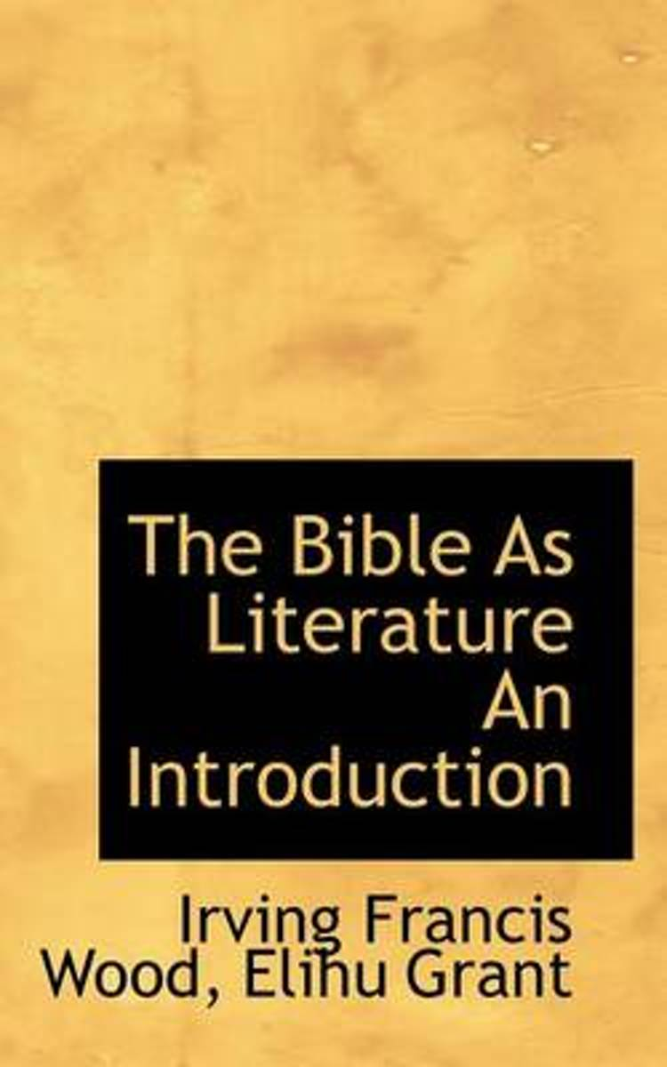 The Bible as Literature an Introduction