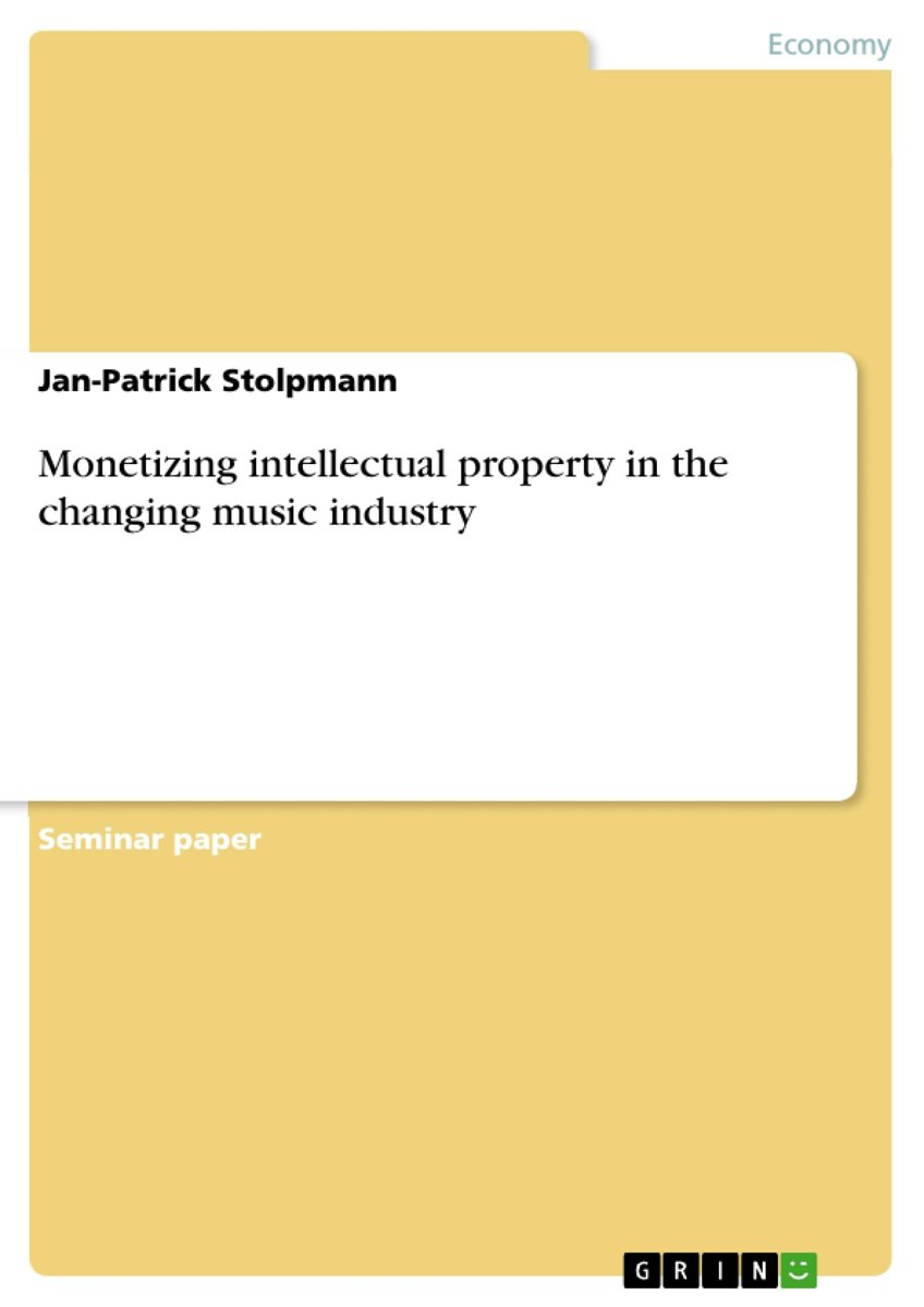 Monetizing intellectual property in the changing music industry