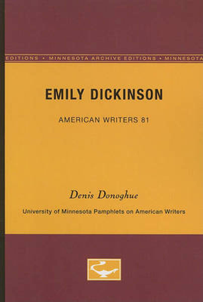 Emily Dickinson - American Writers 81