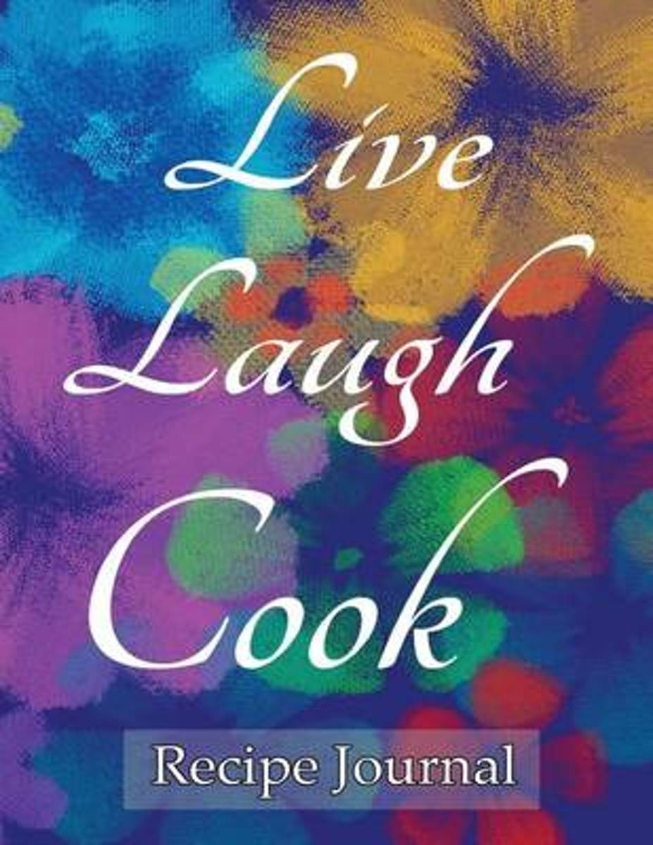 Live Laugh Cook Recipe Journal