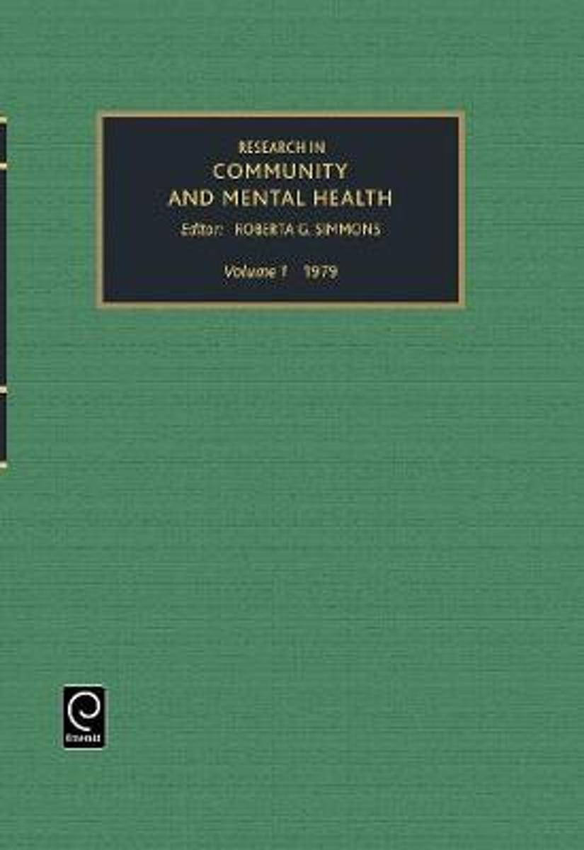 Research in Community and Mental Health