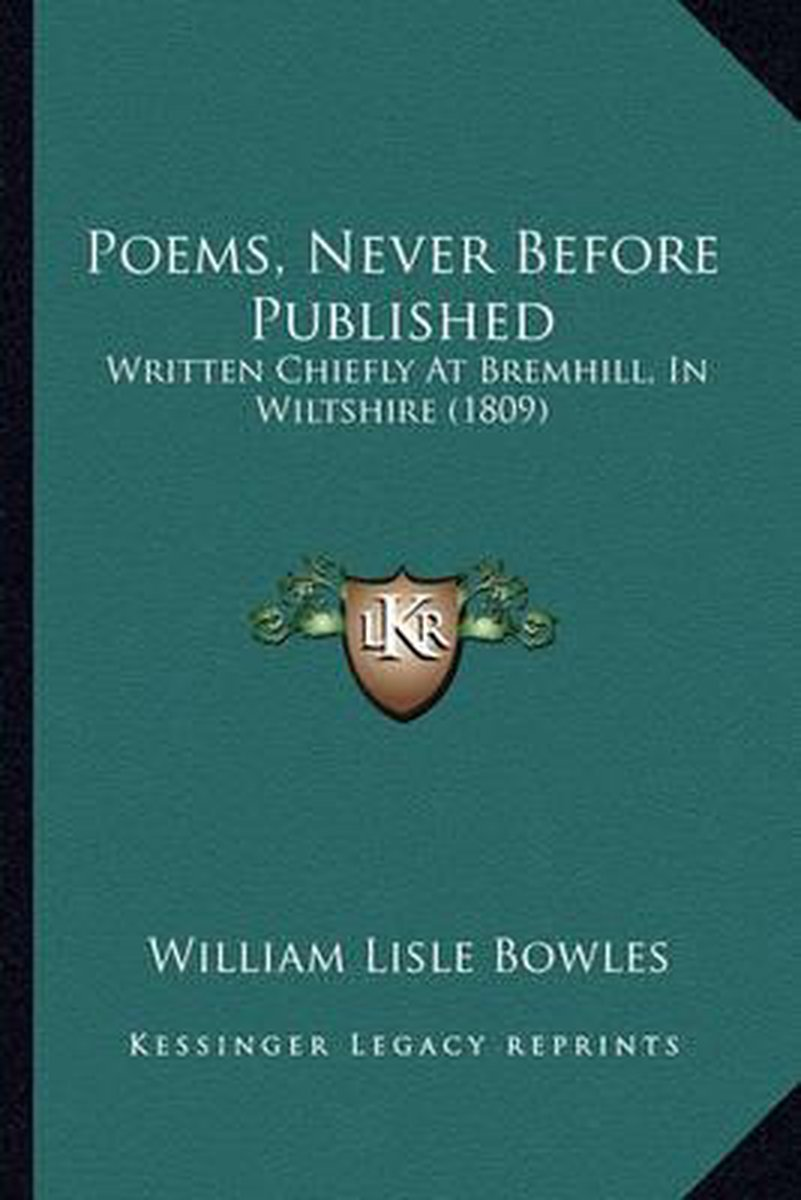 Poems, Never Before Published