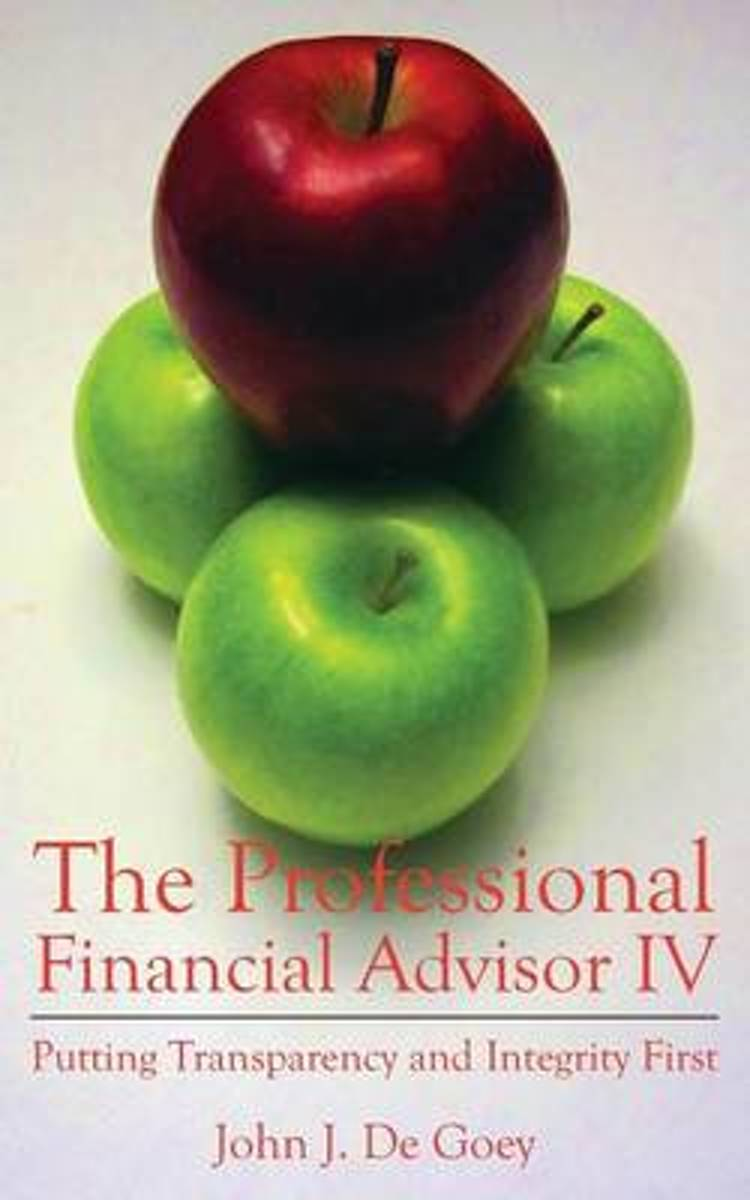 The Professional Financial Advisor IV