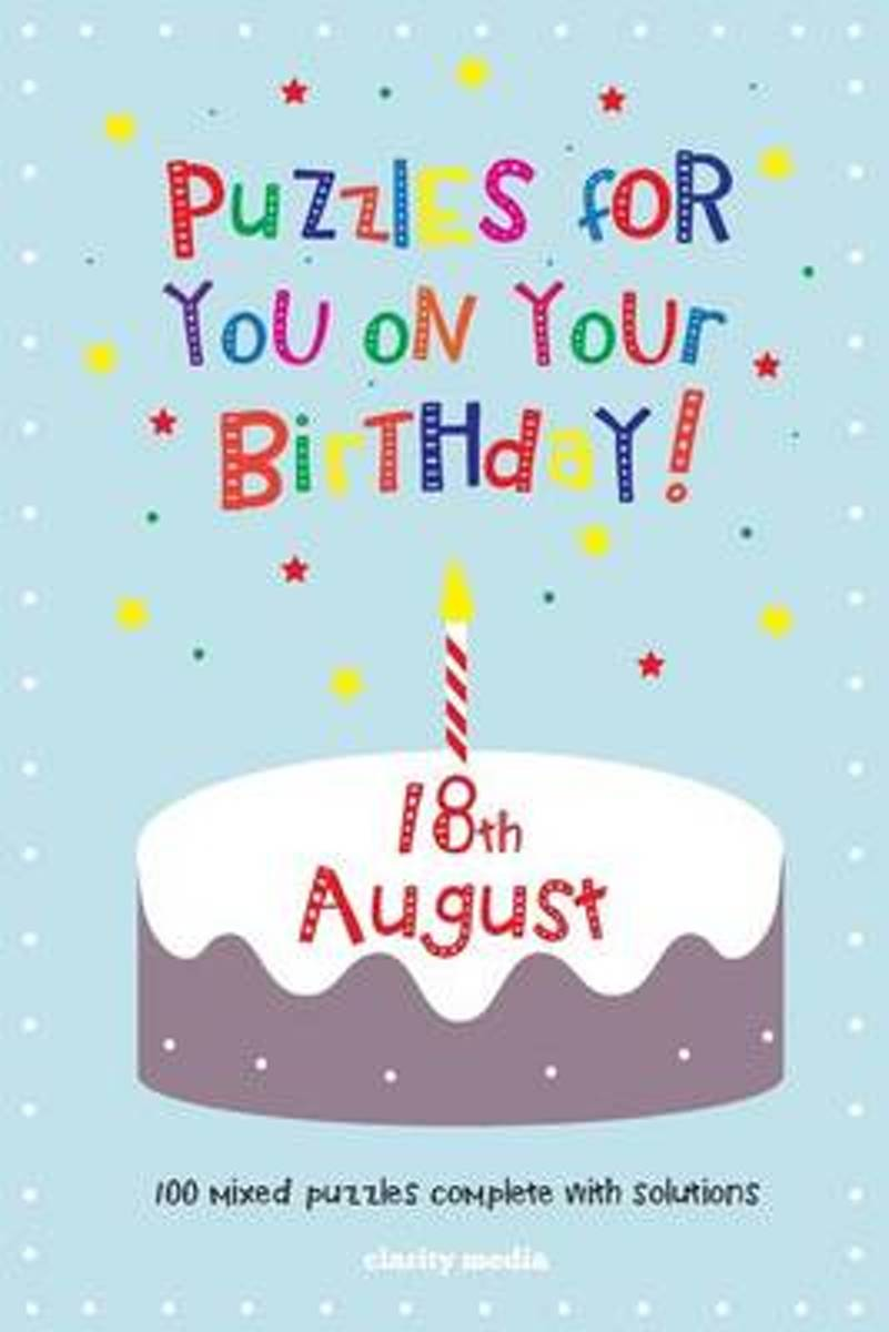 Puzzles for You on Your Birthday - 18th August