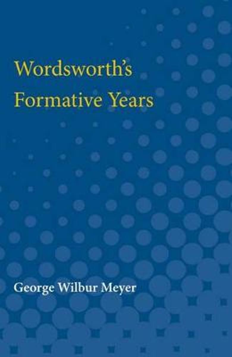 Wordsworth's Formative Years