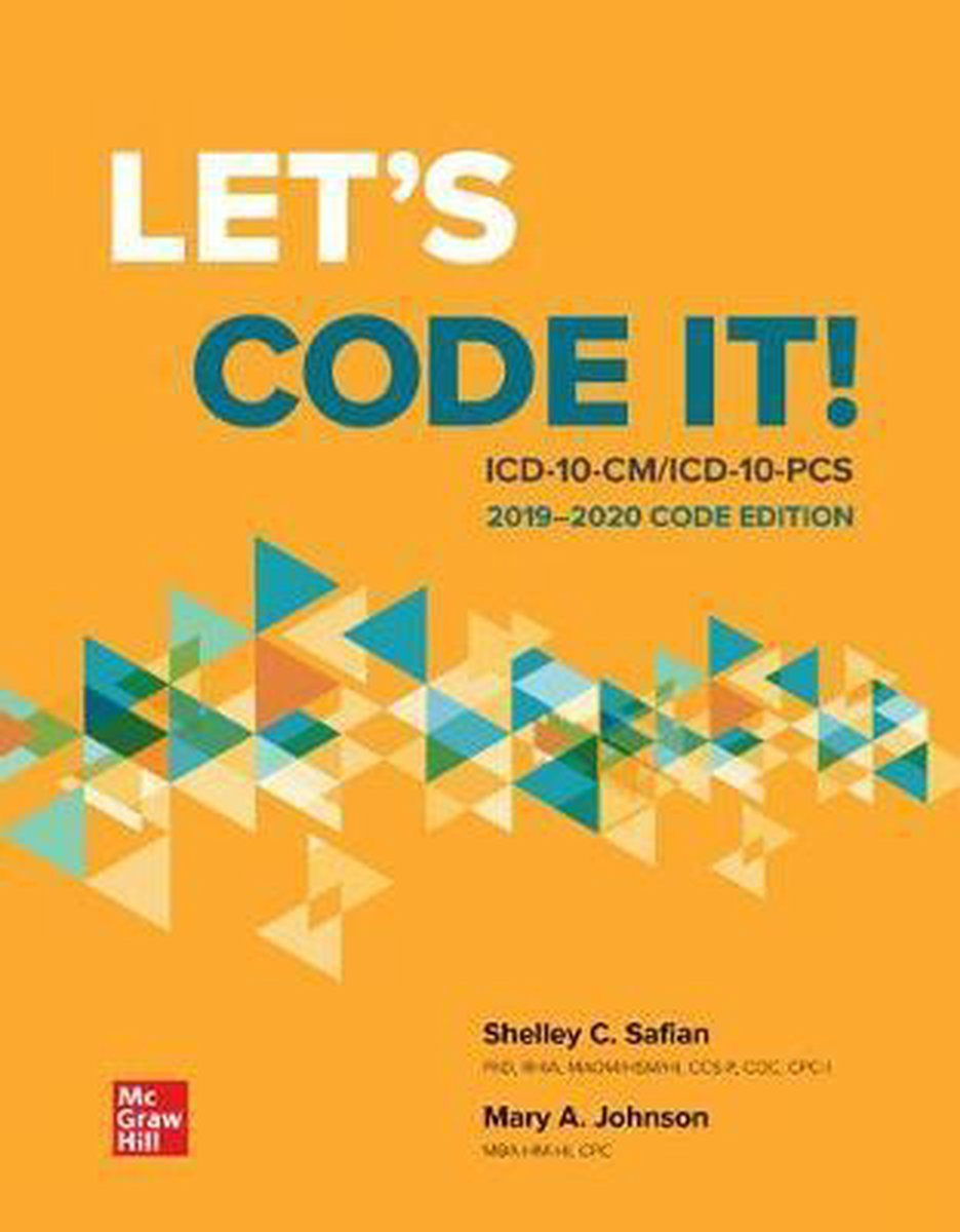 Loose Leaf for Let's Code It! ICD-10-CM/PCs 2019-2020 Code Edition