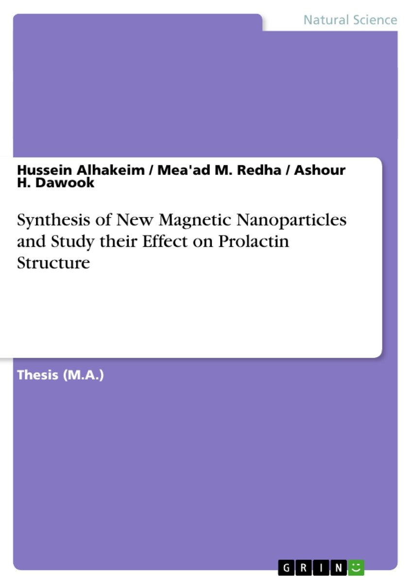Synthesis of New Magnetic Nanoparticles and Study their Effect on Prolactin Structure
