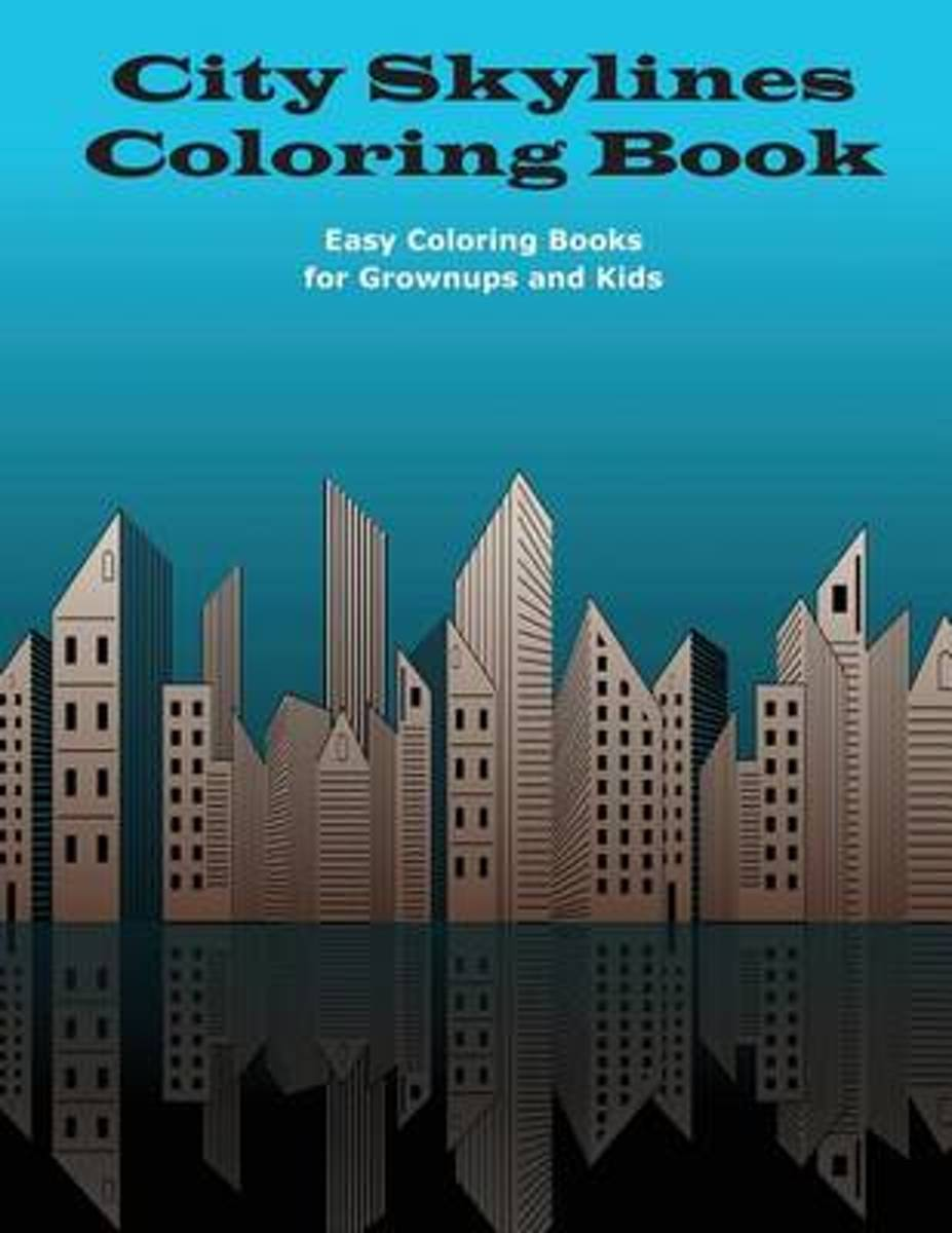 City Skylines Coloring Book
