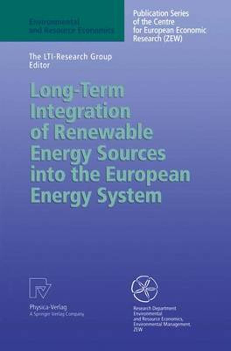 Long-Term Integration of Renewable Energy Sources into the European Energy System