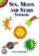 Sun, Moon and Stars Stickers