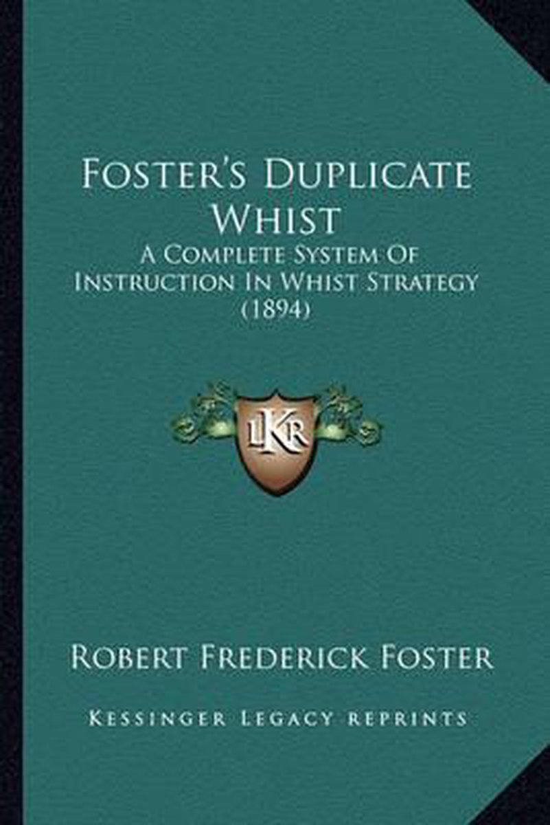 Foster's Duplicate Whist