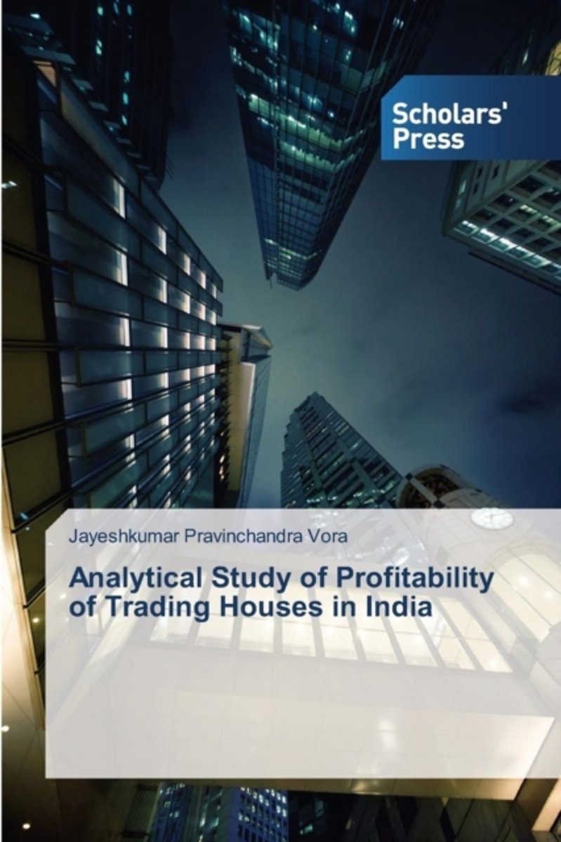 Analytical Study of Profitability of Trading Houses in India
