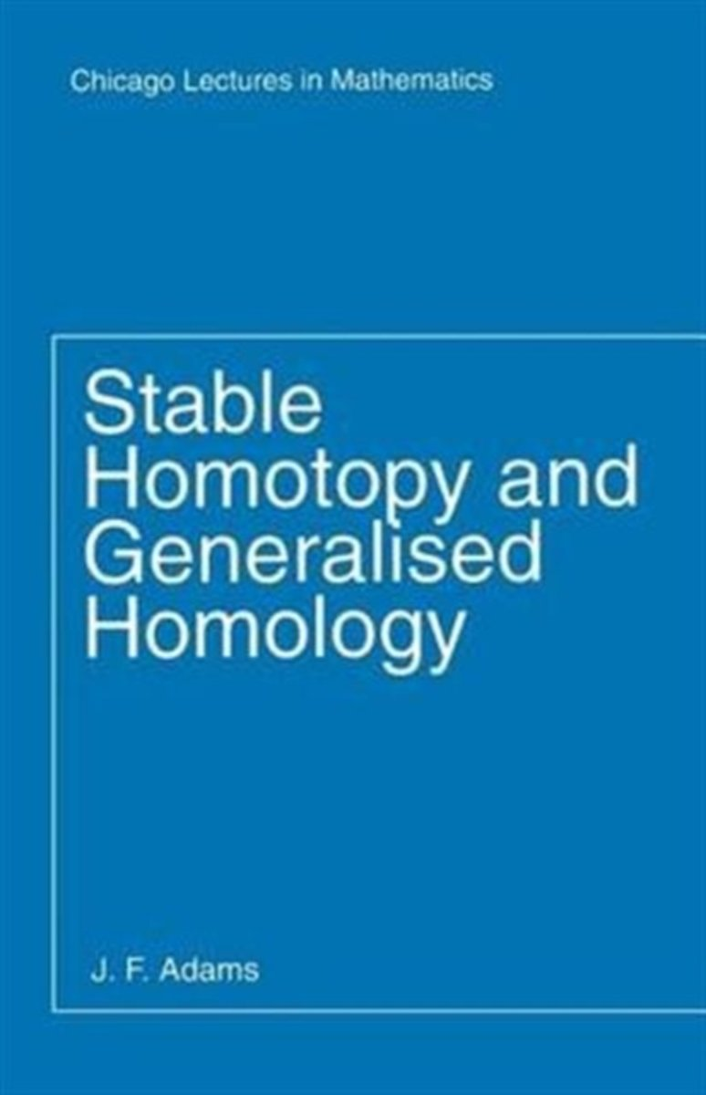Stable Homotopy and Generalized Homology