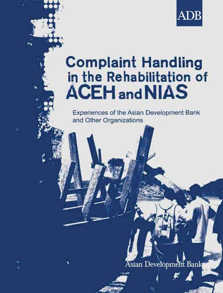 Complaint Handling in the Rehabilitation of Aceh and Nias
