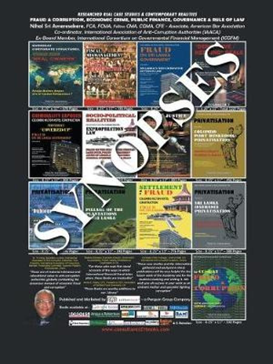 Researched Real Case Studies & Contemporary Realities Fraud & Corruption, Economic Crime, Public Finance, Governance & Rule of Law