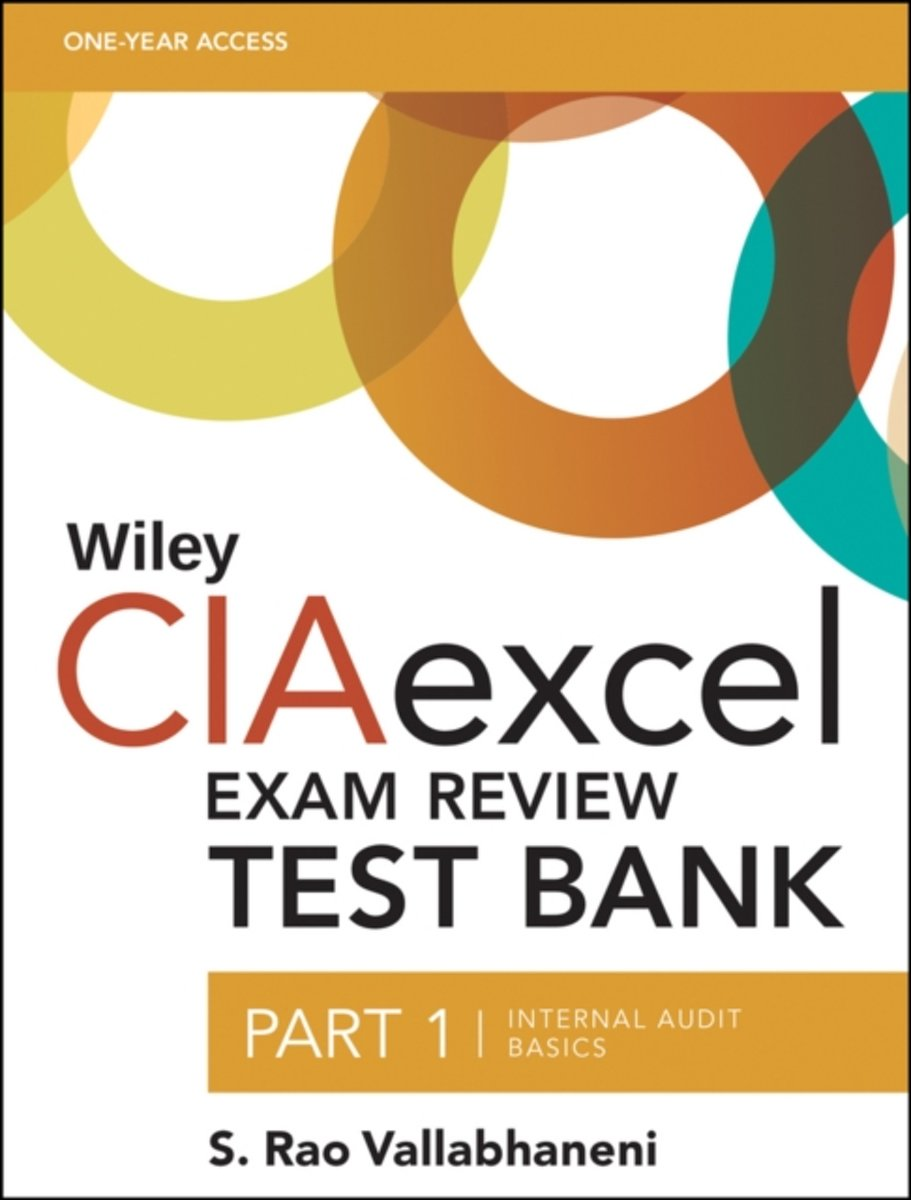 Wiley CIAexcel Exam Review Test Bank