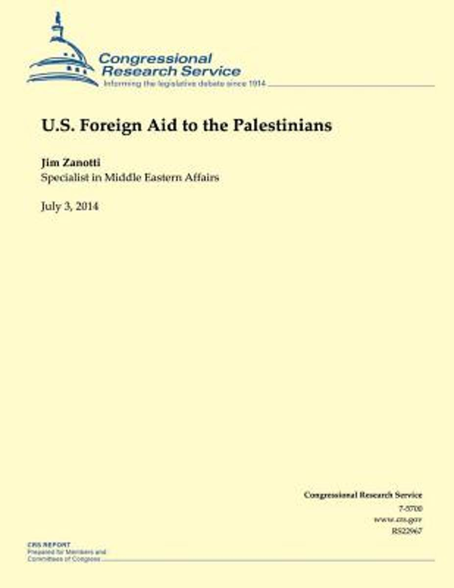 U.S. Foreign Aid to the Palestinians