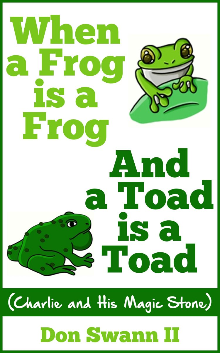 When a Frog is a Frog and a Toad is a Toad
