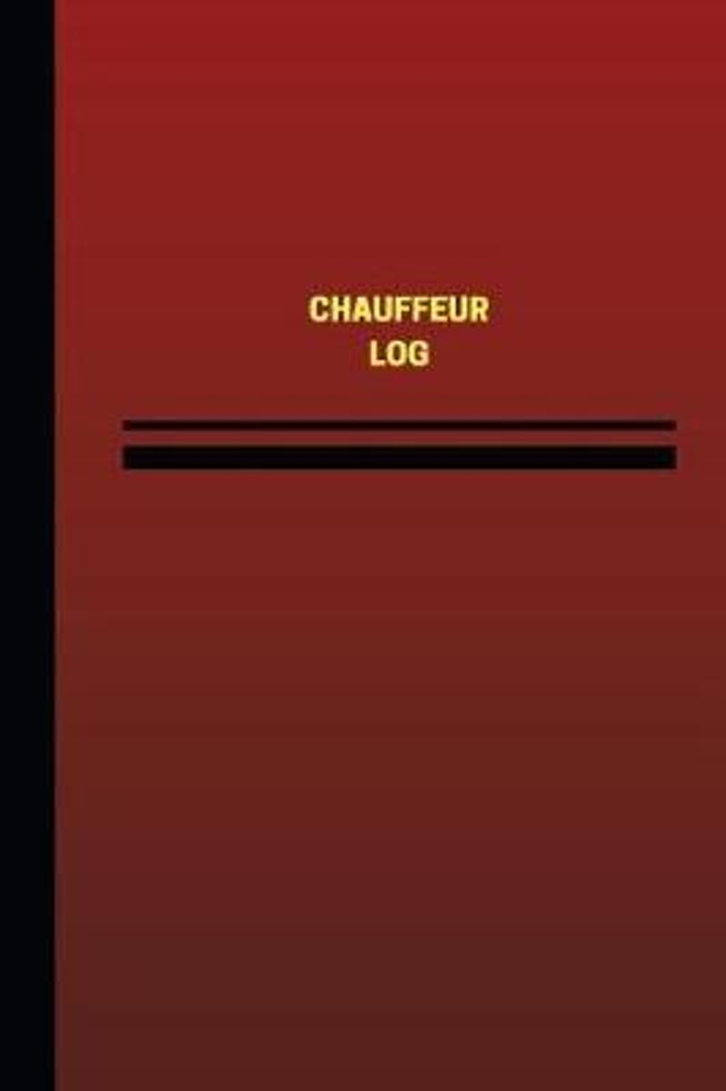 Chauffeur Log (Logbook, Journal - 124 pages, 6 x 9 inches)