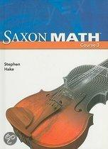 Saxon Math Course 3, Student Edition